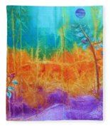 Fairy Tale Woods Fleece Blanket