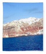 Fairy To Santorinii Fleece Blanket
