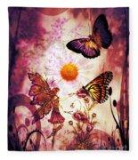 Fairy's Touch Fleece Blanket