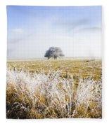 Fairytale Winter In Fingal Fleece Blanket