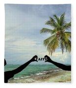 Faith - Digital Art1 Fleece Blanket