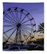 Fajitaville Ferris Wheel 2 Fleece Blanket