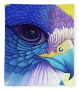 Falcon Medicine Fleece Blanket