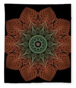Fall Blossom Zxk-4310-2a Fleece Blanket