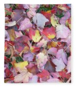 Fall Carpet Fleece Blanket