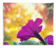 Fall Color 1 Fleece Blanket