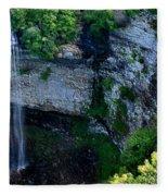 Fall Creek Falls Fleece Blanket