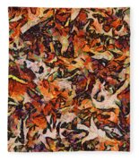 Fall-dm Fleece Blanket