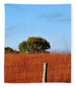 Fall Field Fleece Blanket
