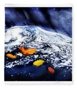 Fall Flotilla Fleece Blanket