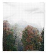 Fall Fog Fleece Blanket