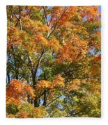 Fall Gradient Fleece Blanket