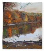 Fall In 7 Lakes Fleece Blanket