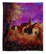 Fall In Ardennes  Fleece Blanket