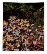 Fall In August Fleece Blanket