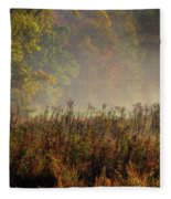Fall In Cades Cove Fleece Blanket