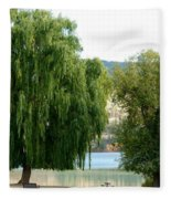 Fall In Kaloya Park 6 Fleece Blanket
