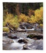 Fall In The Grand Tetons Fleece Blanket