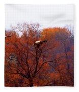 Fall Landing Fleece Blanket