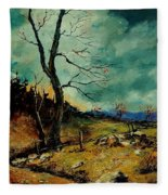 Fall Landscape 56 Fleece Blanket