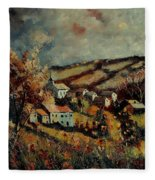 Fall Landscape 670110 Fleece Blanket