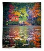 Fall Radiance Fleece Blanket