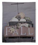 Fall S/c Fleece Blanket