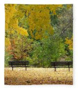 Fall Series 12 Fleece Blanket