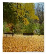 Fall Series 13 Fleece Blanket