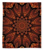 Fall Splendor Fleece Blanket