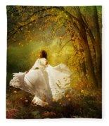 Fall Splendor Fleece Blanket