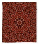 Fall Splendor Mandala Fleece Blanket