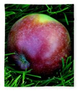 Fallen Apple Fleece Blanket