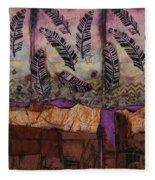 Fallen Feathers  Fleece Blanket