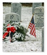 Fallen Heroes II Fleece Blanket