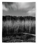 Fallen Timbers Battlefield Fleece Blanket