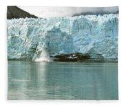 Falling Ice 8421 Fleece Blanket