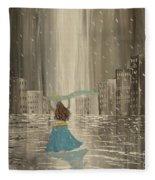 Falling Out Of Love Fleece Blanket