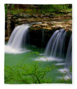 Falling Water Falls Fleece Blanket