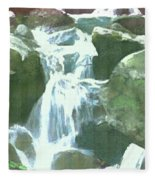 Falling Waters Fleece Blanket