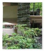 Fallingwater Exterior IIi Fleece Blanket