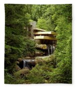Fallingwater  Fleece Blanket