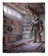 Fallout 4 Armour Fleece Blanket