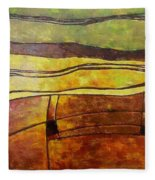 Fallow Ground Fleece Blanket