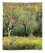Fallow Meadow Fleece Blanket