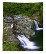 Falls Falls Fleece Blanket