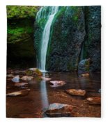 Falls In Bluff Country Fleece Blanket