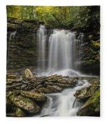 Falls Of Hills Creek 2  Fleece Blanket