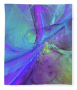 False Dimension Of Heaven Fleece Blanket