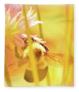 Fame Is A Bee Fleece Blanket